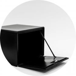 Bezorgbox, hard 120L open