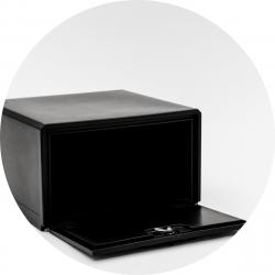bezorgbox, hard 85L, open